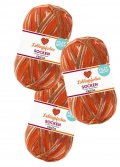 Lieblingsfarben Sockenwolle von myboshi