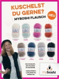 myboshi Wolle Flausch -Special Edition Herbst/Winter 2016/2017