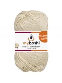 992 - elfenbein myboshi 50/50