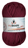 535 - bordeaux myboshi No.5