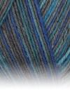 Sockenwolle Trecking XXL - 621 blau meliert