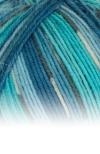 Sockenwolle Trecking XXL - 672 blau meliert