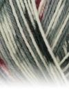 Sockenwolle Trecking XXL - 677 grau/rot meliert/gemustert