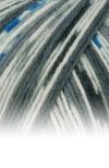 Sockenwolle Trecking XXL - 678 grau/blau meliert/gemustert
