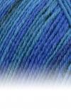 Sockenwolle Trecking XXL - 597 blau meliert