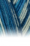 Sockenwolle Trecking XXL - 681 blau meliert/gemustert