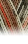 Sockenwolle Trecking XXL - 680 braun meliert/gemustert