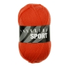 Sockenwolle Sport - 1491 orange uni