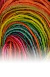 "55 - Atelier Zitron Filigran Lace No.1 ""Verlaufsfarben"""